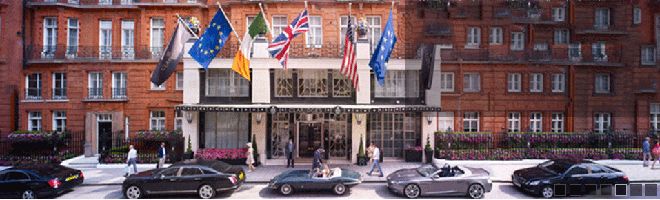 Claridge's luxury hotel and iconic brand offers strong brand and subtle stories