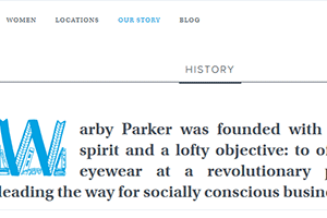 Brand Values and Stories of Warby Parker